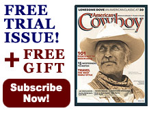 Amercian Cowboy Magazine Subscribe Now