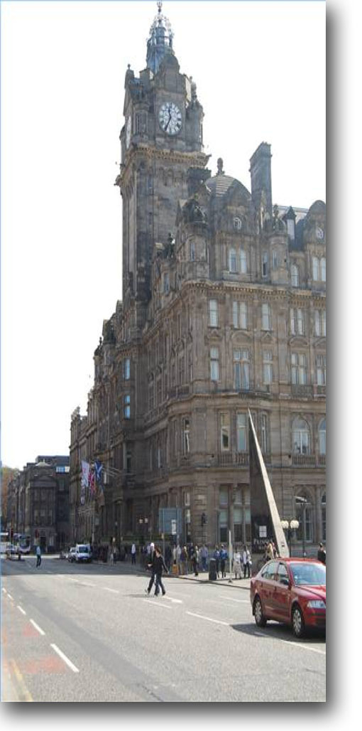 Review of the Balmoral Hotel in Edinburgh