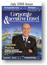 Corporate and incentive Travel July 2008 issue