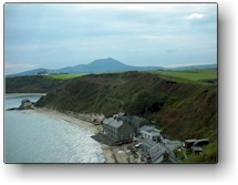 Wales Nefyn Golf  12th Hole View