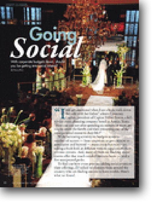 IS THE SOCIAL EVENT MARKET FOR YOU?