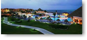 Moon Palace Resort in Cancun, Mexico